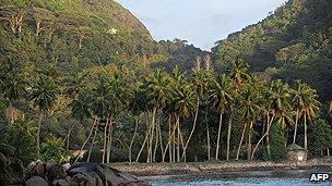 Beach in Seychelles