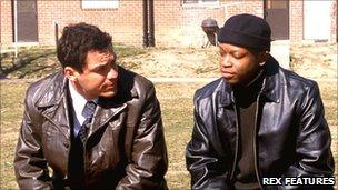 Scene from the first series of The Wire