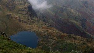View from Lake District