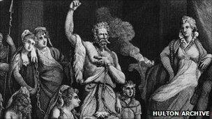 Caratacus in Rome