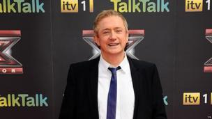 Louis Walsh on the red carpet for the launch of the new series of The X Factor.