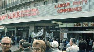 Labour conference, Brighton 1973