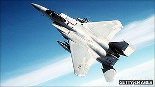 File photo of a F-15 fighter
