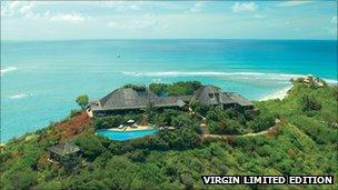 Necker Island - the Great House