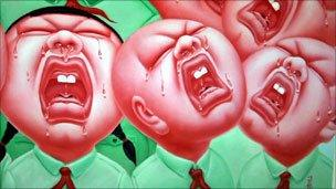 Detail from The Crying Baby Series One