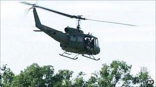 Boy's love of Huey helicopters praised by Vietnam veterans