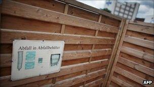 "A ""consummation area"" in Bonn, 29 August"