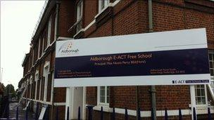 Aldborough E-ACT primary in Redbridge,
