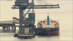 ship where drugs were found