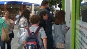 Jersey Live ticket queue
