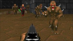 Doom screenshot, Activision
