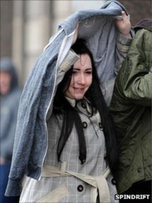 Woman in Orkney