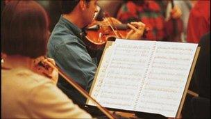 Orchestral players