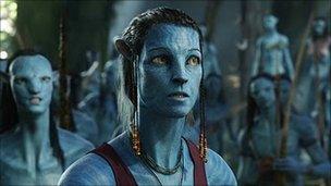 Sigourney Weaver in Avatar