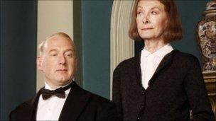 Adrian Scarborough and Jean Marsh