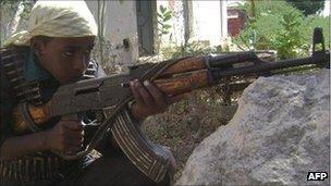 Al-Shabab fighter (file photo)