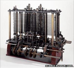 Part of Babbage analytical engine