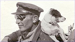 Paddy Mayne and his dog