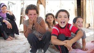 Bedouin children