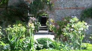 Garden designed by Gertrude Jekyll