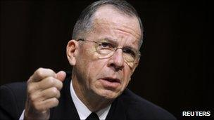 Adm Mike Mullen at Senate Armed Services Committee hearing, 22 Sept 2011