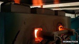 Gas fired kiln