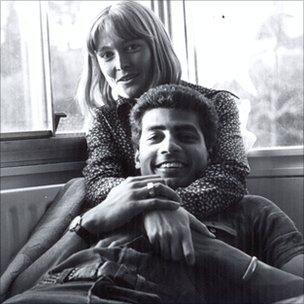 George Alagiah and his wife Frances