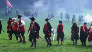Re-enactment of the Battle of Prestonpans