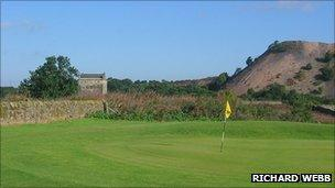 Niddry Castle golf course - pic by Richard Webb