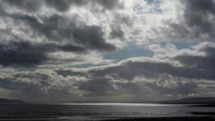 Sky over the Isle of Bute