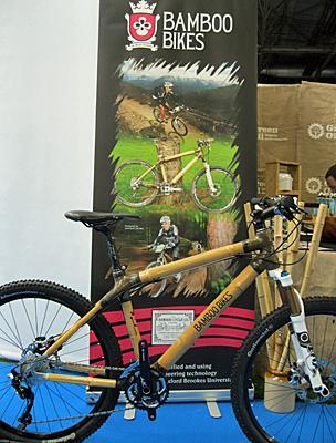 b86b0fb7a50 First UK-built bamboo bike unveiled - BBC News
