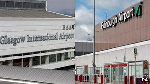 BAA to sell Edinburgh Airport over competition rules - BBC News