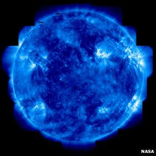 Sun imaged in ultraviolet