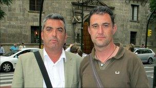 Antonio Barroso and Juan Luis Moreno