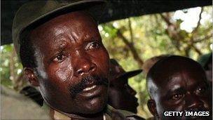 LRA rebel leader Joseph Kony. File photo
