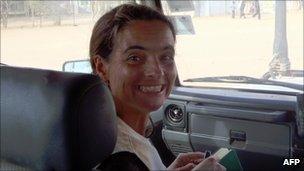 MSF aid worker Montserrat Serra