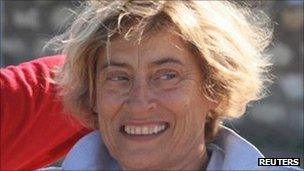 Frenchwoman Marie Dedieu, abducted in Kenya (undated file photo)