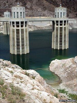 Intake of Hoover Dam