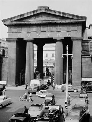 Euston Arch, London