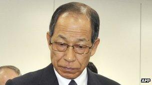 Olympus chairman Tsuyoshi Kikukawa