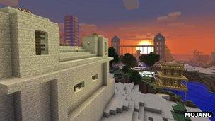 Players control their world in Minecraft