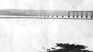 Tay Bridge after the disaster
