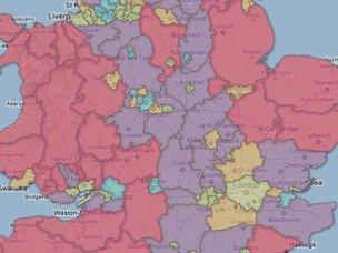UK 3G coverage map
