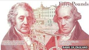 New £50 note