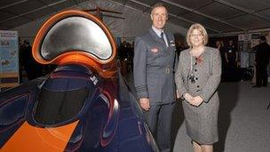 'Bloodhound' with Wing Commander Andy Green and Dr. Julie Mills