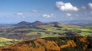 The Eildon Hills