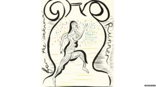 For The Unknown Runner by Chris Ofili
