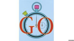 Go by Michael Craig-Martin