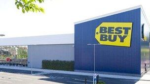 Best Buy store in the West Midlands