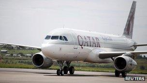 Qatar Airbus A320